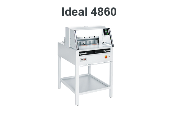Ideal 4860 Elektrische Stapelsnijmachine